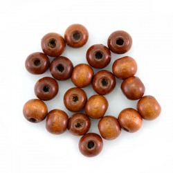 Round natural wood bead 8 mm 5000 pieces