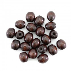 Oval rosewood wood bead 8x7 mm 2000 pieces