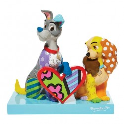 Lady and the Tramp 18 cm Limited Edition Romero Britto 6008528