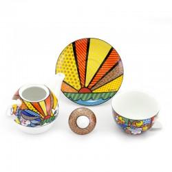 Tazza Tea Garden 15,5 cm Romero Britto GOEBEL-1