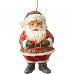Hanging Santa Clause 10,5 cm Jim Shore 6004310