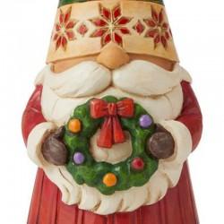 Christmas gnome 18 cm Jim Shore 6009182