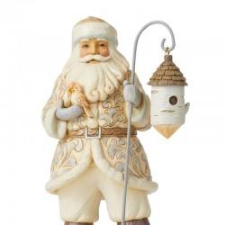 Santa Clause with bird house 25,5 cm Jim Shore 6008860