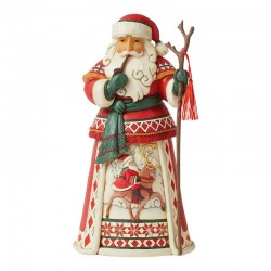 Santa Clause with stick  26 cm Jim Shore 6008874