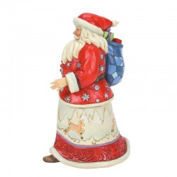 Santa Clause with bag of toys 21 cm Jim Shore 6008878