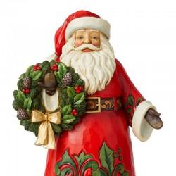 Santa Clause with crown 30 cm Jim Shore 6008881