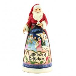 Santa Clause with nativity scene  25 cm Jim Shore 6008873