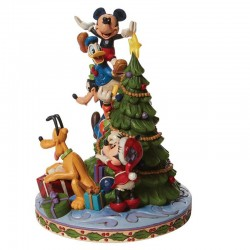 Mickey and the Gang with Christmas Tree 21 cm Disney Traditions 6008979