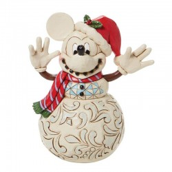 Mickey Mouse Snowman 17 cm Disney Traditions 6008976