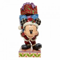 Mickey Mouse with gifts 22 cm Disney Traditions 6008978