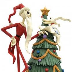 Jack Skellington and Zero with tree 25 cm Disney Traditions 6008991