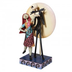 Jack Skellington and Zero dancing 23 cm Disney Traditions 6008992
