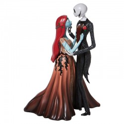 Jack and Sally in love 24 cm Disney Showcase 6008701