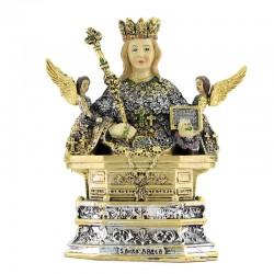 Saint Agatha bust resin statue 10 cm