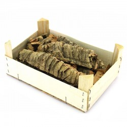 Wooden box with cork 650 g