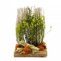 Bush with brushwood for nativity scene 14 cm