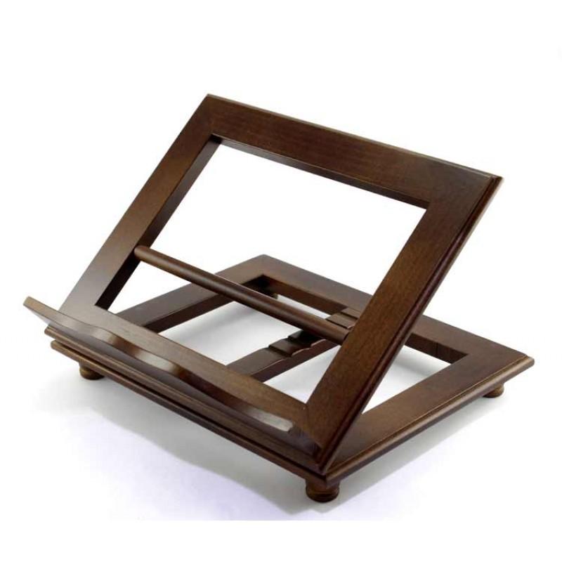 Leggio da tavolo in legno mogano 32x26 cm - Costruire un leggio da tavolo ...