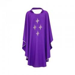 Casula liturgica 4 Croci in poliestere