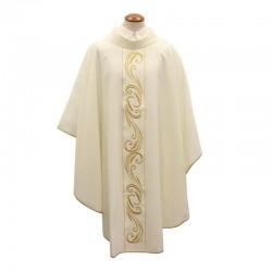 Casula liturgica ricamo dorato