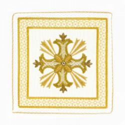 Palla Copricalice ricamo Croce