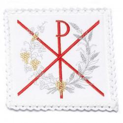 Servizio da Messa X P e Spighe in puro lino