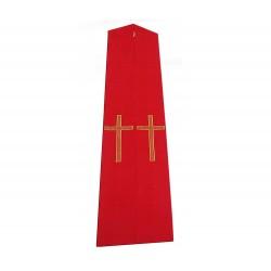 Stola Gotica Croce semplice in tessuto poliestere