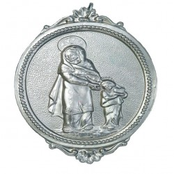 Confraternity Medallion St. Anne 11x17 cm
