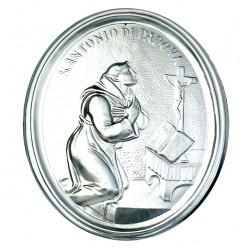 Confraternity Medallion St. Anthony of Padua 10x13 cm
