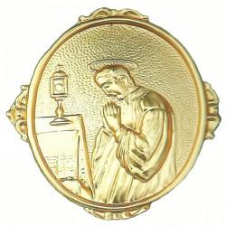 Confraternity Medallion St. Lewis 7x9 cm