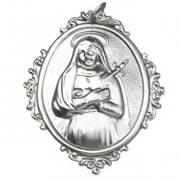 Confraternity Medallion Our Lady of Sorrow 10x12 cm