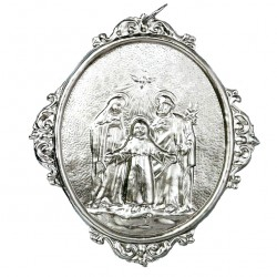 Confraternity Medallion Holy Family 12x14 cm