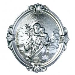 Confraternity Medallion St. Joseph 14x16 cm