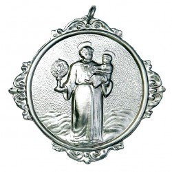 Confraternity Medallion St. Anthony with Monstrance 12x14 cm
