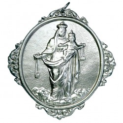 Confraternity Medallion Our Lady of Mt. Carmel 12x14 cm