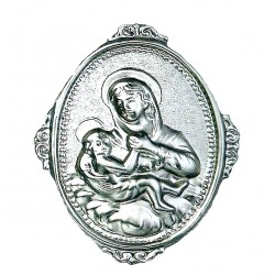 Confraternity Medallion Our Lady of Graces 6x8 cm
