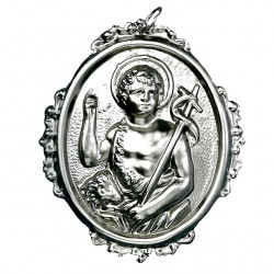 Confraternity Medallion St. John Baptist 10x12 cm