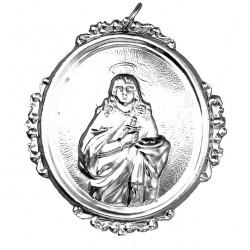 Confraternity Medallion St. Lucia 8x9 cm