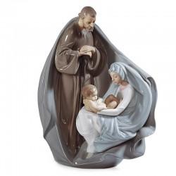Statua Nascita di Gesù in porcellana lucida 28 cm Lladrò