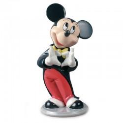 Statuetta Topolino Disney in porcellana lucida 18 cm Lladrò
