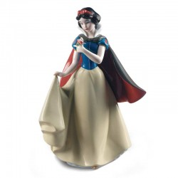 Statuetta Biancaneve Disney in porcellana lucida 26 cm Lladrò