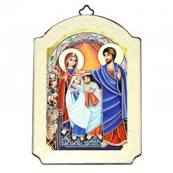 Icona Nozze di Cana stampa su legno 10x15 cm
