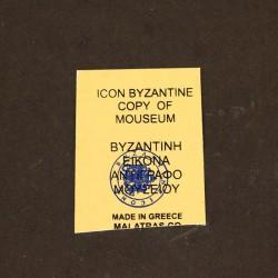 Greek icon Saint Paul print on wood 21x28 cm