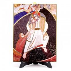 Tavola Buon Pastore di Rupnik 20x27 cm