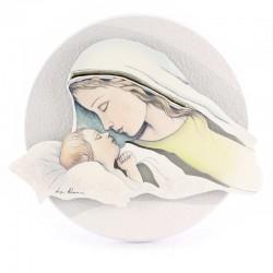 Quadretto Maternità in legno 16x15 cm