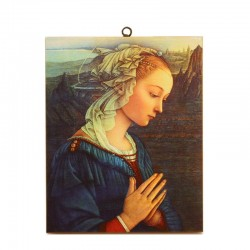 Madonna by Lippi picture print on canvas 24x30