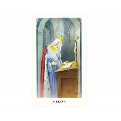 Immagine Sant'Elena con preghiera 11x6 cm pz 100