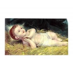 Immagine Gesù Bambino Betlemme 7x12 cm pz 100