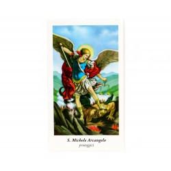 Immagine San Michele Arcangelo-B 6x11 cm pz 100