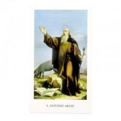 Immagine Sant'Antonio Abate 6x11 cm pz 100