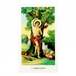 Immagine San Sebastiano 6x11 cm pz 100